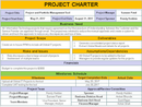 Project Charter PPT Template