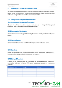 Project Management Plan (PMP) Template