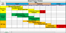 Simple Project Timeline Excel Template