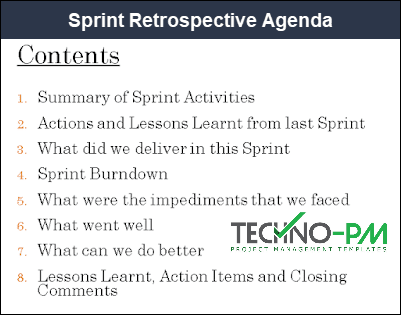 Sprint Retrospective PPT