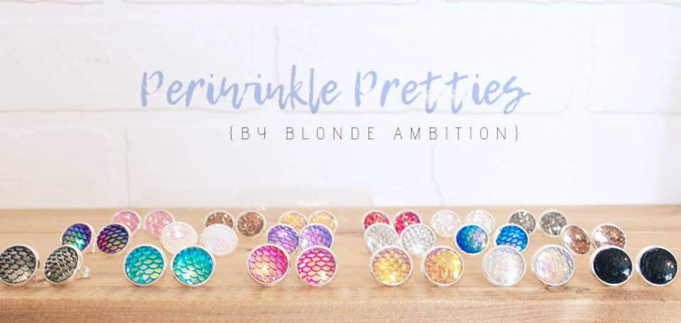 Periwinkle Pretties Earrings - Bulk 25 Pack - Blonde Ambition