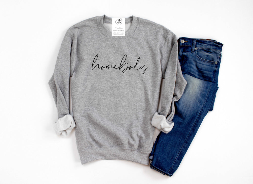 Homebody Cozy Crew Neck Sweater