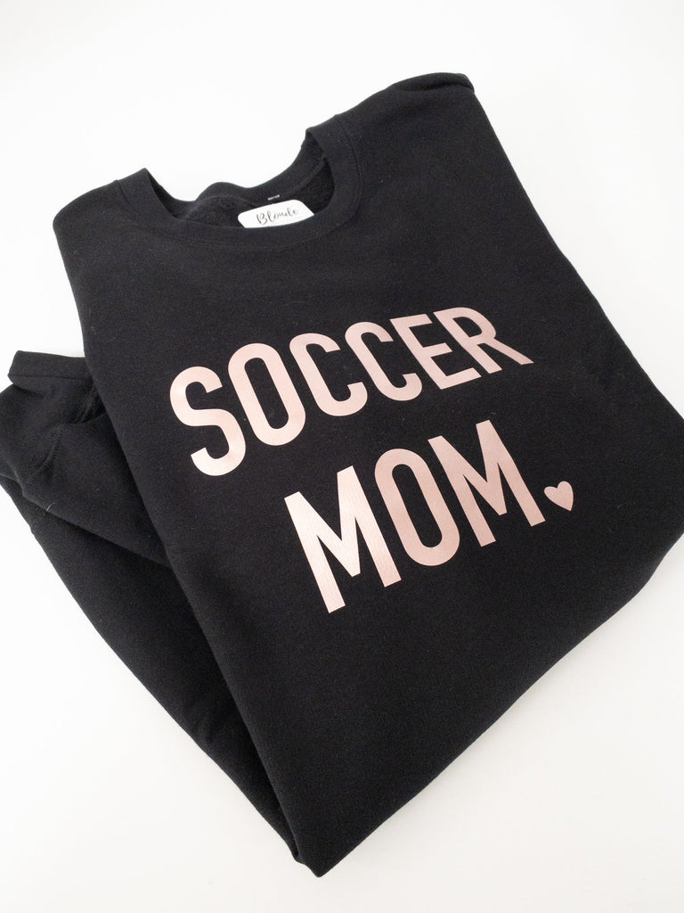 Sports Mom {Customize} Cozy Crew Neck Sweater