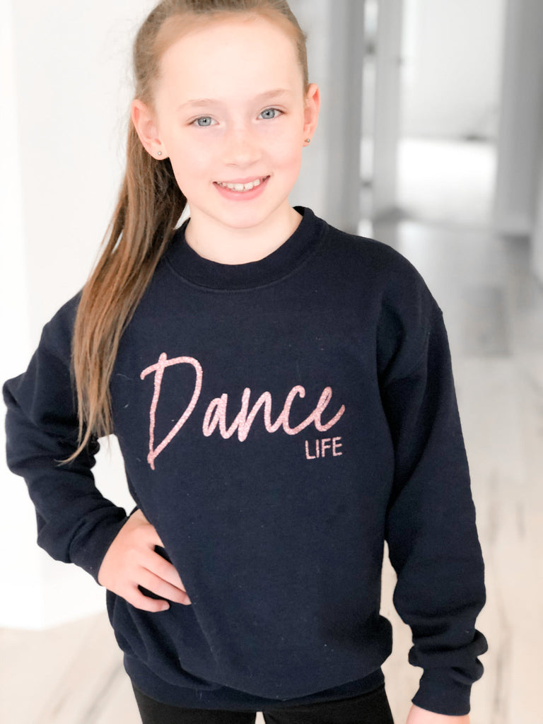 Dance Life Toddler & Youth Crew Neck Sweater