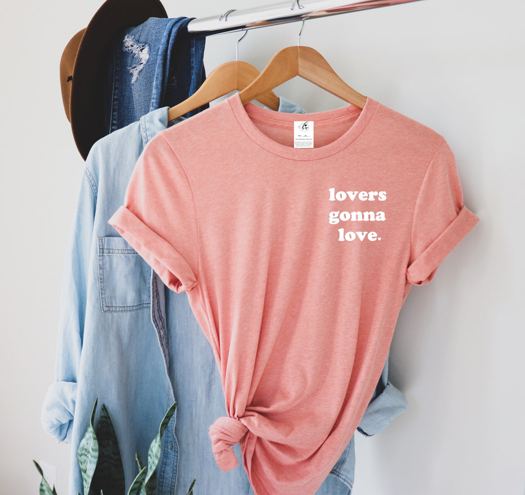 Lovers Gonna Love Boyfriend Tee