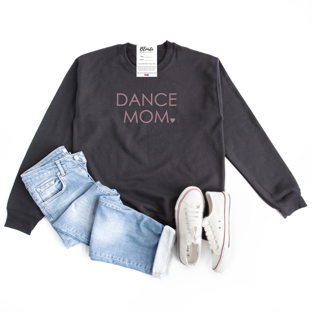 Dance MOM Cozy Crew Neck Sweater - Blonde Ambition
