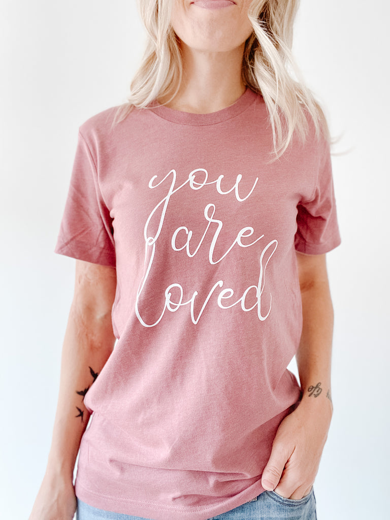 You Are Loved Boyfriend Tee