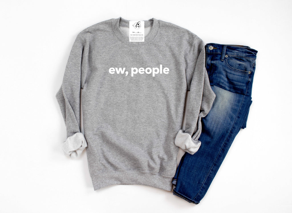 Ew, People Cozy Crew Neck Sweater (Multiple Colors)