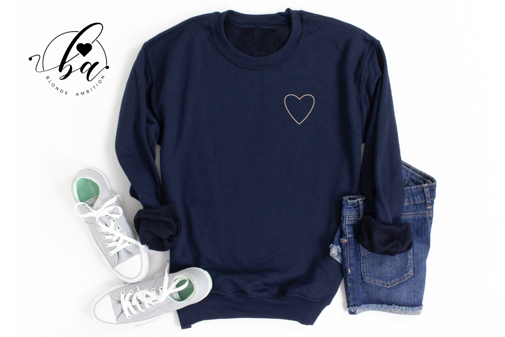 All Heart Cozy Crew Neck Sweater