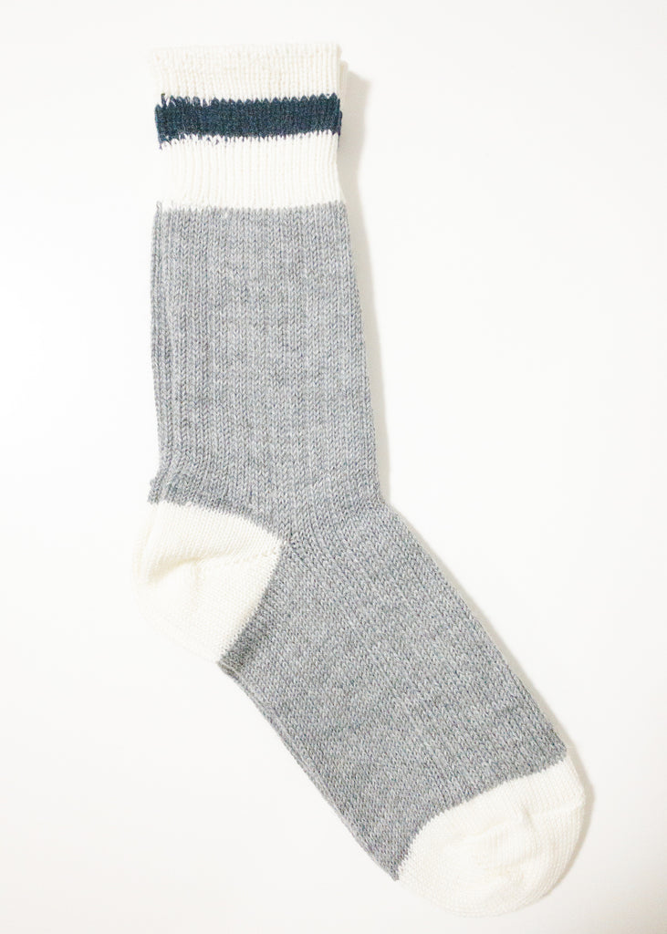 Canadiana Socks - Navy