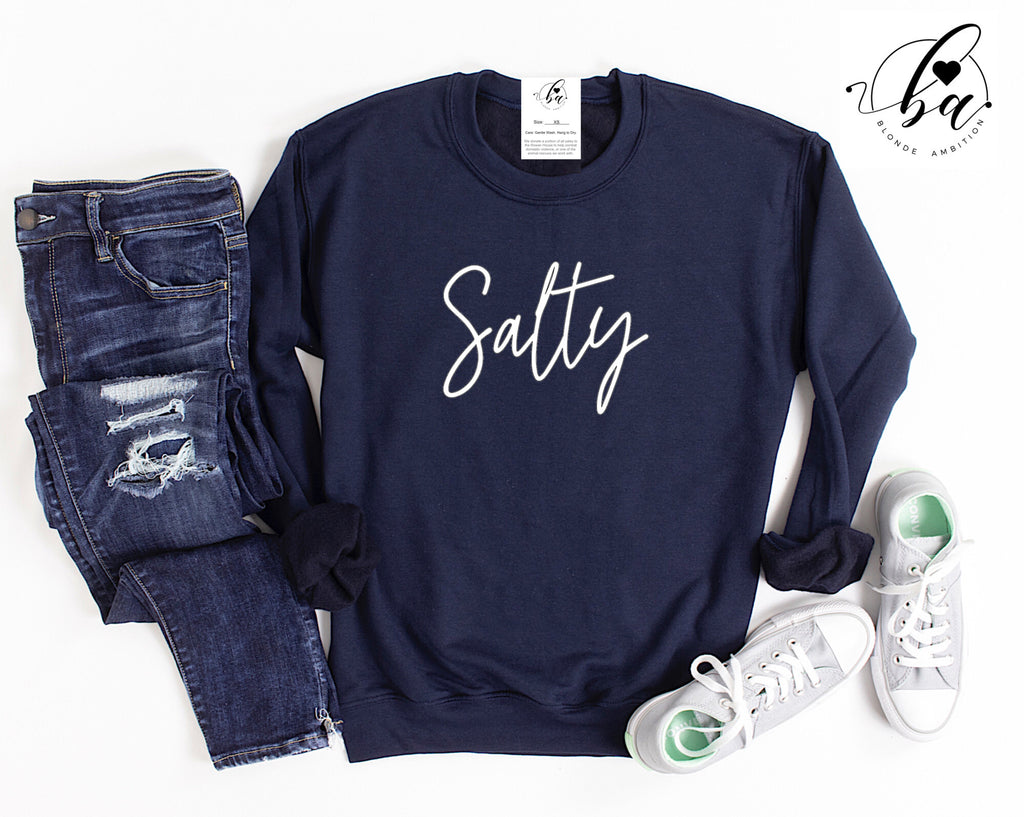 Salty Cozy Crew Neck Sweater