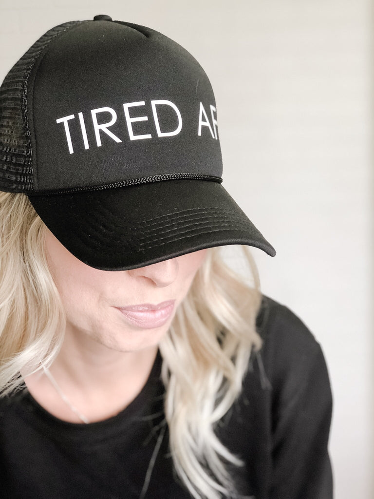 Tired AF Cap - Blonde Ambition
