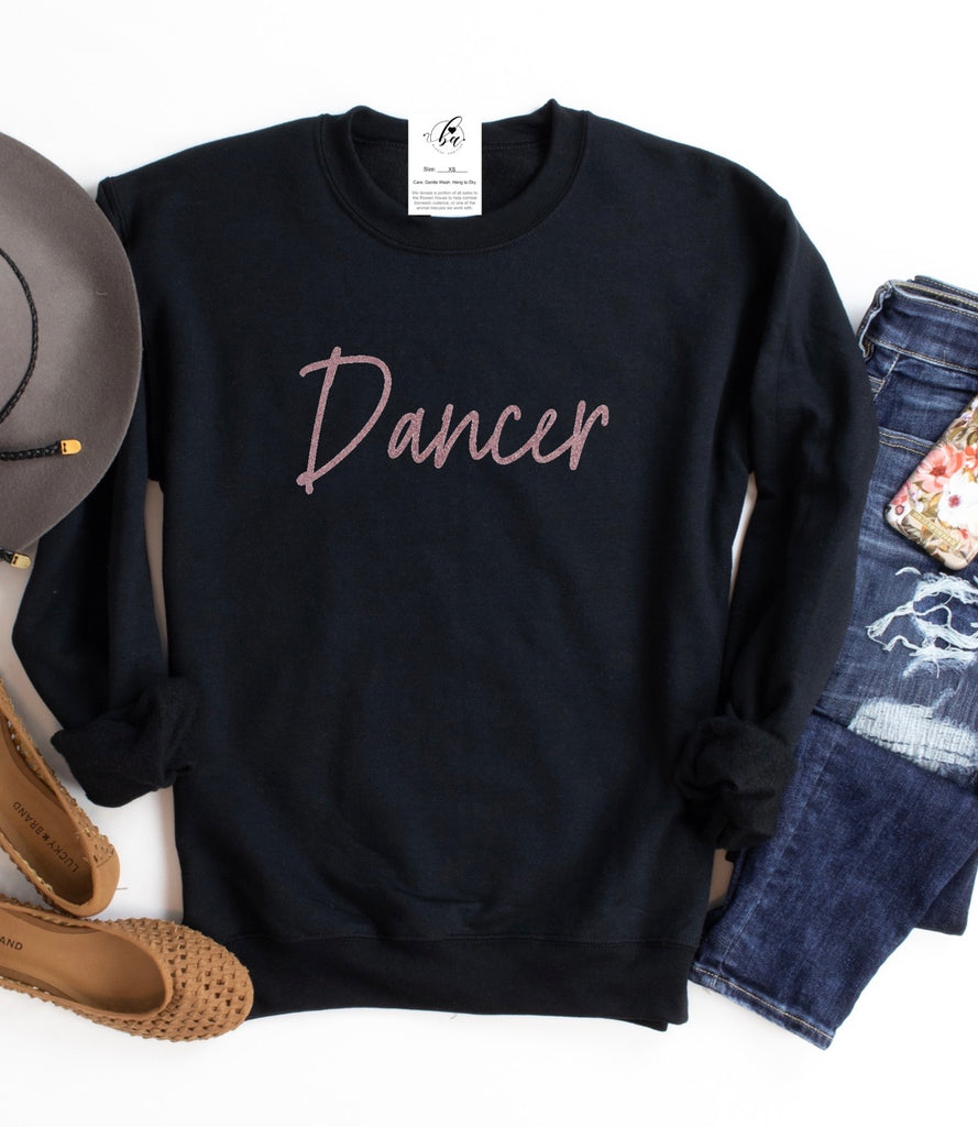 Dancer Cozy Crew Neck Sweater