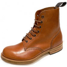 Handmade Town and Country Leather Tan Boots