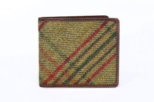 Classic Green Islay Tweed Gents Wallet