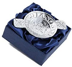 Mini Pewter Quaich Auld Lang Syne