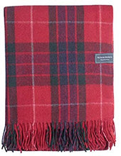 Recycled Wool Blanket Fraser Tartan