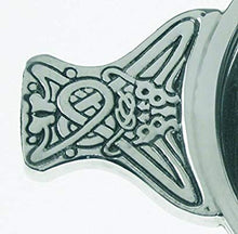Handcrafted Horn Pewter Quaich 60mm