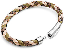 Men's Leather Bracelet - Camo