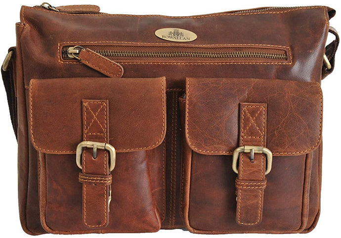 Rowallan Breda Leather Satchel