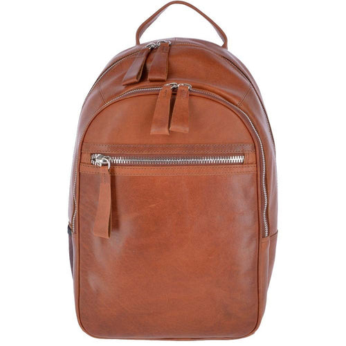 Tan Leather  unisex Ashwood BackPack