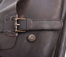 Ashwood Vintage Weekend Leather Holdall