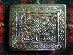 Scottish Kilt Belt Buckle Celtic