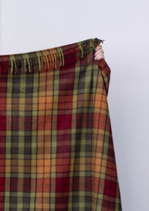 Recycled Wool Blanket Buchanan Autumn Tartan