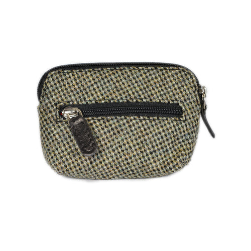 Prince of Wales Islay Tweed Coin Purse.