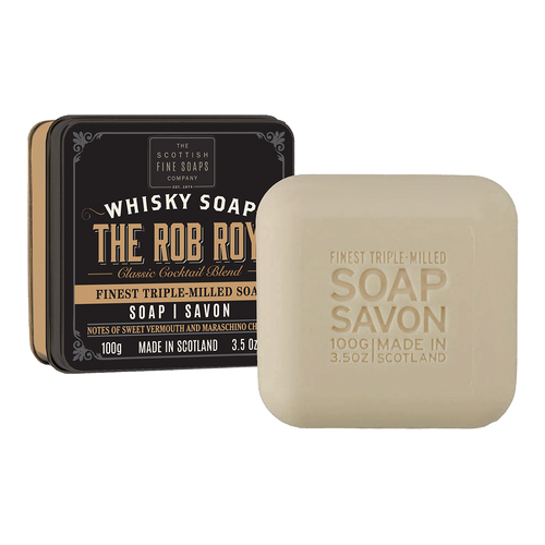 Scottish Fine Soap Whisky Rob Roy