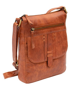 Ladies  Brandy Crossbody Leather Bag