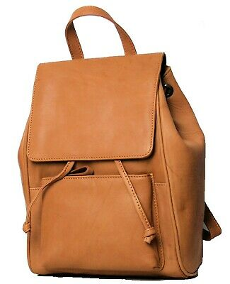 Leather Backpack / Rucksack - Cognac