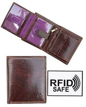 Gents Brown Leather Wallet