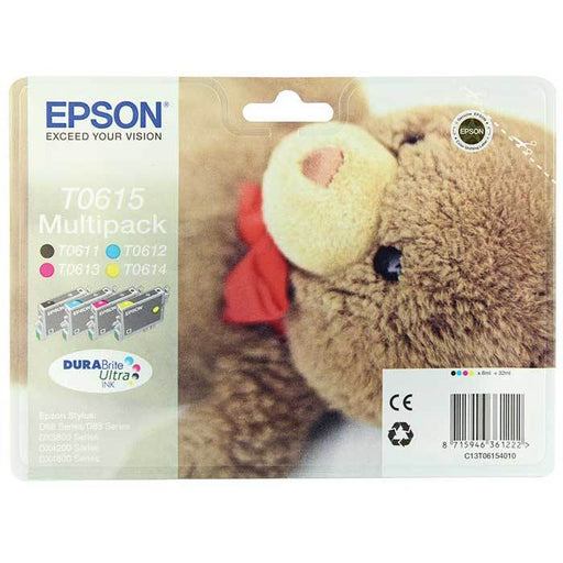 Original Epson T0615 Ink Cartridges Multipack