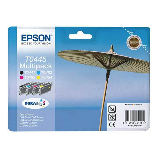 Original Epson T0445 Ink Cartridges Multipack