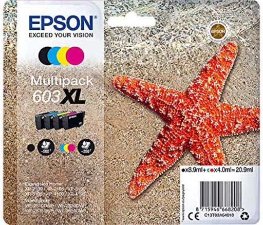 Original Epson 603XL Multipack (T03A6)