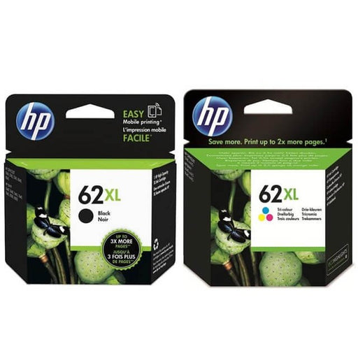 Original HP 62XL Multipack Ink Cartridges