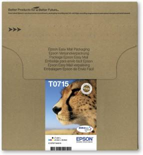 Original Epson T0715 Ink Cartridges Multipack
