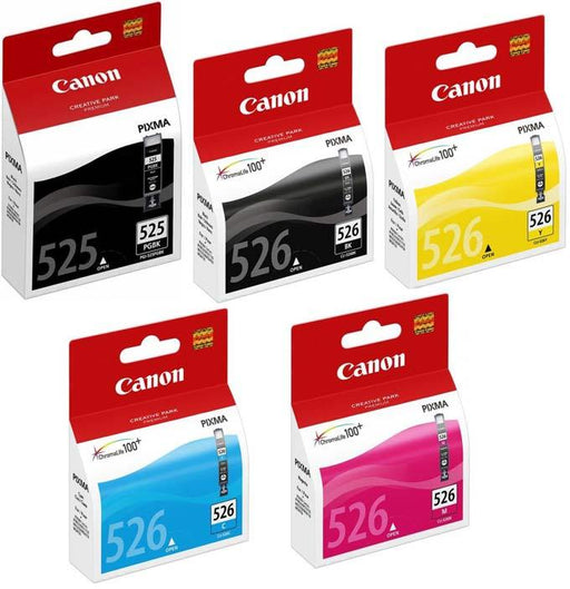 Original Canon PGI-525/CLI-526 Ink Cartridges Multipack