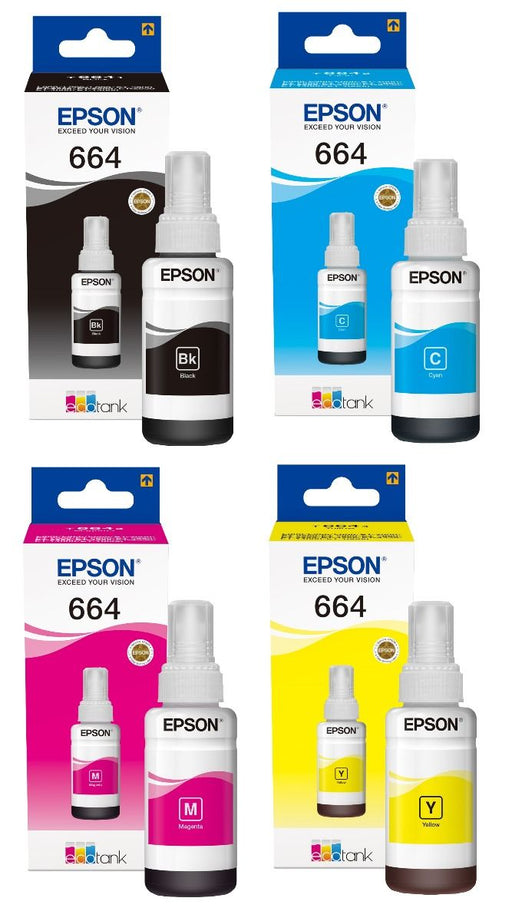 Original Epson Ecotank Ink Bottle
