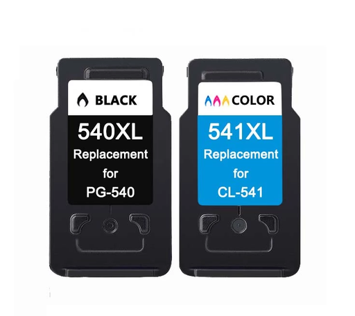 Remanufactured Canon PG-540XL/CL-541XL Ink Cartridges Multipack