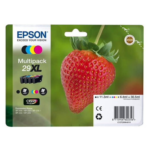 Original Epson T29XL (T2996) Ink Cartridges Multipack