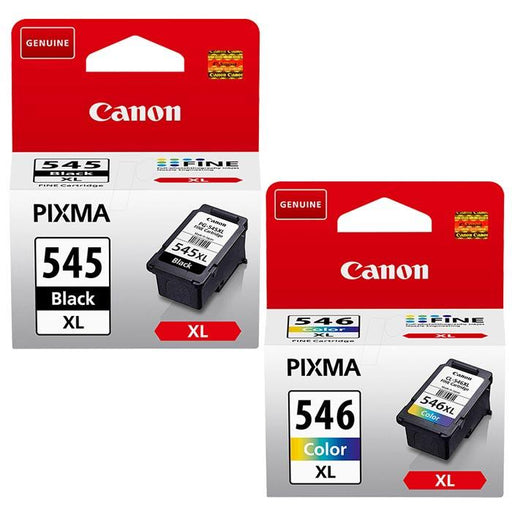 Original Canon PG-545XL/CL-546XL Ink Cartridges Multipack