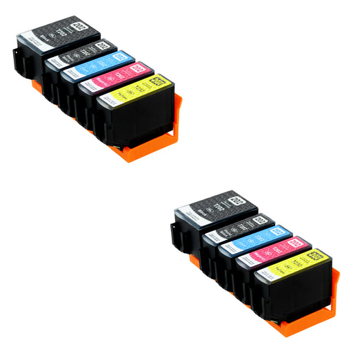 Compatible Epson 202XL (T02G7) High Capacity Ink Cartridge Multipack Including Photo Black (2 Sets)