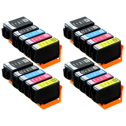 Compatible Epson 202XL (T02G7) High Capacity Ink Cartridge Multipack Including Photo Black (4 Sets)