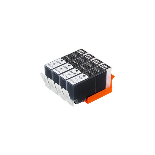 Compatible HP 364XL (CN684EE) High Capacity Black Ink Cartridge Quadpack