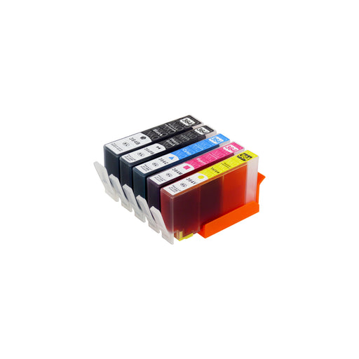 Compatible HP 364XL (N9J74AE) High Capacity Ink Cartridge Multipack Including Photo Black