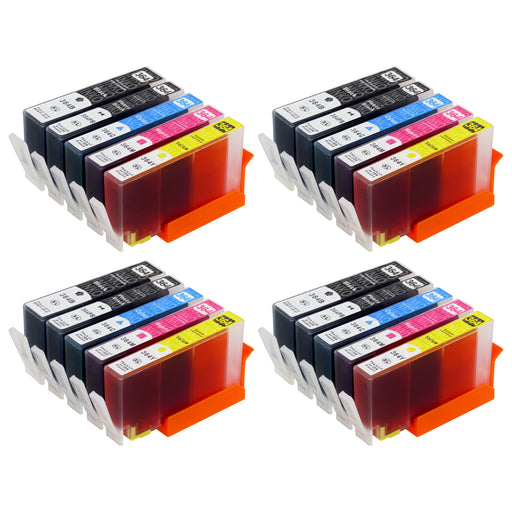 Compatible HP 364XL (N9J74AE) High Capacity Ink Cartridge Multipack Including Photo Black (4 Sets)