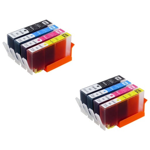 Compatible HP 364XL (N9J74AE) High Capacity Ink Cartridge Multipack (2 Sets)