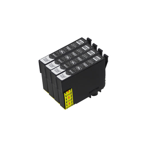 Compatible Epson 603XL (T03A1) High Capacity Black Ink Cartridge Quadpack